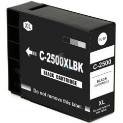 Kompatibilný Canon PGI-2500 XL / PGI2500 XL BK Black - čierna cartridge s čipom - 75 ml