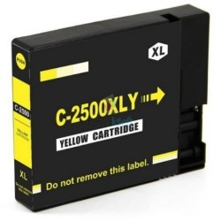 Kompatibilný Canon PGI-2500 XL / PGI2500 XL Y Yellow - žltá cartridge s čipom - 20 ml