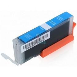 Kompatibilný Canon CLI-571 / CLI571 C Cyan - modrá cartridge s čipom - 12 ml