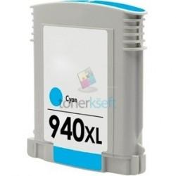 Kompatibilný HP 940 XL / C4907AE HP č.940 XL C Cyan - modrá cartridge s čipom - 28 ml