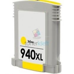 Kompatibilný HP 940 XL / C4909AE HP č.940 XL Y Yellow - žltá cartridge s čipom - 28 ml