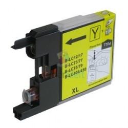 Kompatibilný Brother LC-1220 / LC1220 Y Yellow - žltá cartridge - 20 ml