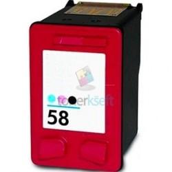 Kompatibilný HP 58 / C6658AE HP č.58 Foto color - Foto trojfarebná cartridge s čipom - 17 ml
