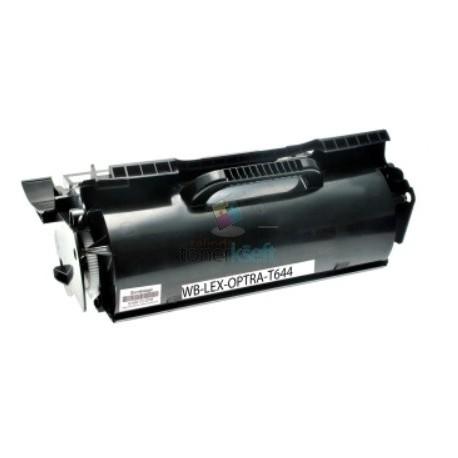 Lexmark 64404XE - T644 BK Black - čierny kompatibilný toner - 32.000 strán, 100% Nový