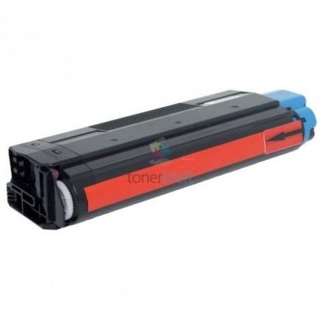 OKI 42127406 (C5100 / C5200 / C5300 / C5400) M Magenta - červený kompatibilný toner - 5.000 strán, 100% Nový