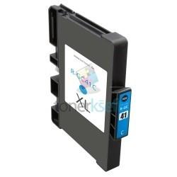 Ricoh GC41 / GC41 (405766) C Cyan - modrá Ricoh kompatibilné cartridge s čipom - 32 ml