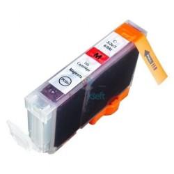 Kompatibilný Canon CLI-8 / CLI8 M Magenta - červená cartridge s čipom - 17 ml