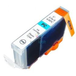 Kompatibilný Canon CLI-8 / CLI8 PC Photo Cyan - foto modrá cartridge s čipom - 17 ml