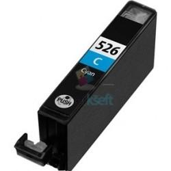 Kompatibilný Canon CLI-526 / CLI526 C Cyan - modrá cartridge s čipom - 15 ml