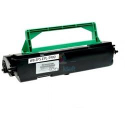Epson C13S050087 (EPL5900 / EPL-5900) BK Black - čierny kompatibilný toner - 6.000 strán, 100% Nový