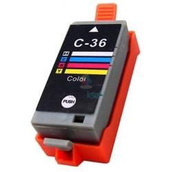Kompatibilný Canon CLI-36 / CLI36 Color - trojfarebná cartridge s čipom - 18 ml