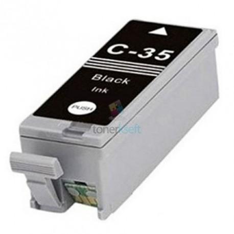 Kompatibilný Canon PGI-35 / PGI35 BK Black - čierna cartridge s čipom - 10 ml