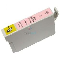 Kompatibilný Epson T0796 / T-0796 LM Light Magenta - červená cartridge s čipom - 18 ml