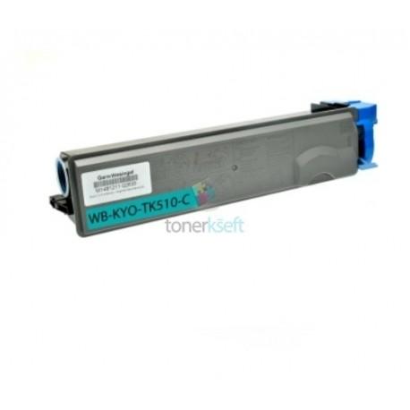Kyocera TK-510C / TK510C (1T02F3CEU0) C Cyan - modrý kompatibilný toner - 8.000 strán, 100% Nový