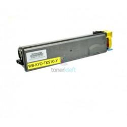 Kyocera TK-510Y / TK510Y (1T02F3AEU0) Y Yellow - žltý kompatibilný toner - 8.000 strán, 100% Nový