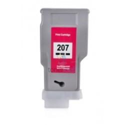 Kompatibilný Canon PFI-207BK / PFI207BK (8789B001) Black - čierna cartridge s čipom - 300 ml