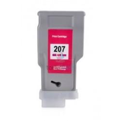 Kompatibilný Canon PFI-207M / PFI207M (8791B001) Magenta - červená cartridge s čipom - 300 ml