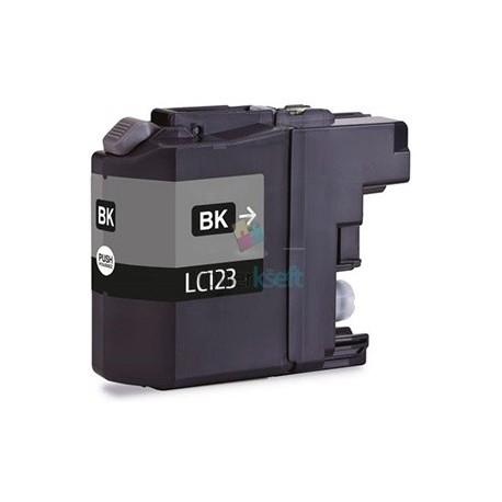 Kompatibilný Brother LC-123 / LC123 XL BK Black - čierna cartridge s čipom - 20 ml