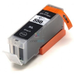 Kompatibilný Canon PGI-550 / PGI550 BK Black - čierna cartridge s čipom - 25 ml