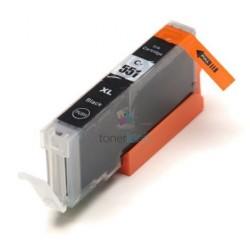 Kompatibilný Canon CLI-551 / CLI551 BK Black - čierna cartridge s čipom - 15 ml