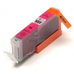 Kompatibilný Canon CLI-551 / CLI551 M Magenta - červená cartridge s čipom - 15 ml
