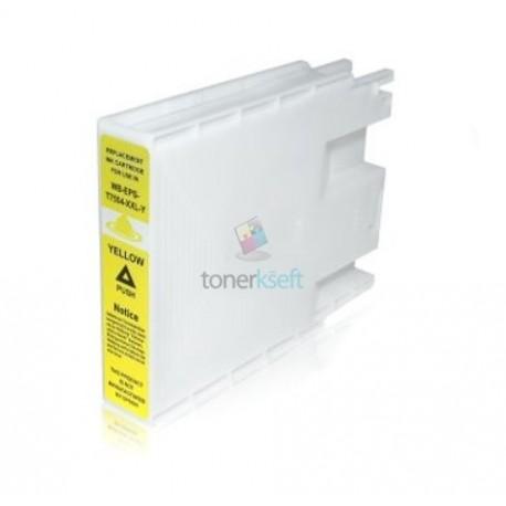 Kompatibilný Epson T7554 / T-7554 (C13T755440) Y Yellow - žltá cartridge s čipom - 70 ml