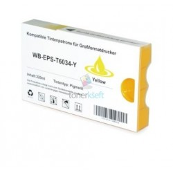 Kompatibilný Epson T6034 / T-6034 XL (C13T603400) Y Yellow - žltá cartridge s čipom - 220 ml