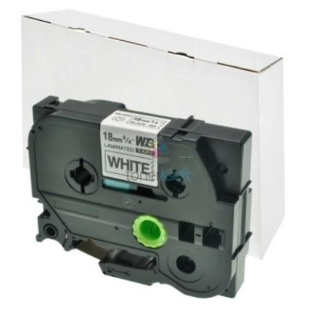 Brother TZe-241 / TZe241 - páska 18mm x 8m čierny tlač / biely podklad, laminovaná kompatibilný