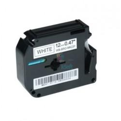 Brother MK-231 / MK231 - páska 12mm x 8m čierny tlač / biely podklad, nelaminovaná kompatibilný