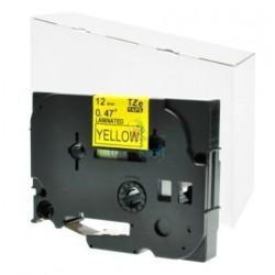 Brother TZe-631 / TZe631 - páska 12mm x 8m čierny tlač / žltý podklad, laminovaná kompatibilný