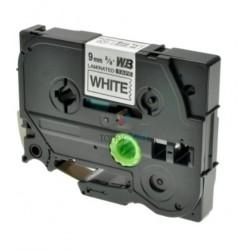 Brother TZe-221 / TZe221 - páska 9mm x 8m čierny tlač / biely podklad, laminovaná kompatibilný