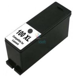 Lexmark 100 XL / 100XL 14N1068E BK Black - čierna kompatibilné cartridge s čipom - 26 ml