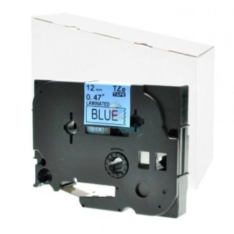 Brother TZe-531 / TZe531 - páska 12mm x 8m čierny tlač / modrý podklad, laminovaná kompatibilný