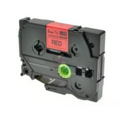 Brother TZe-421 / TZe421 - páska 9mm x 8m čierny tlač / červený podklad, laminovaná kompatibilný