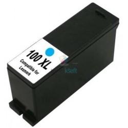 Lexmark 100 XL / 100XL 14N1069E C Cyan - modrá kompatibilný cartridge s čipom - 16 ml