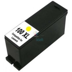 Lexmark 100 XL / 100XL 14N1071E Y Yellow - žltá kompatibilné cartridge s čipom - 16 ml