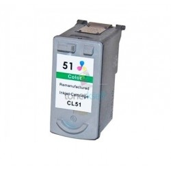 Kompatibilný Canon CL-51 / CL51 Color - trojfarebná cartridge s čipom - 24 ml