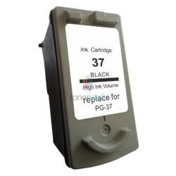 Kompatibilný Canon PG-37 / PG37 BK Black - čierna cartridge s čipom - 12 ml
