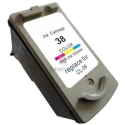 Kompatibilný Canon CL-38 / CL38 Color - trojfarebná cartridge s čipom - 12 ml
