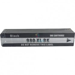HP 980 XL / HP č.980 XL (D8J10A) BK Black - čierna kompatibilné cartridge s čipom - 204 ml