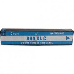 HP 980 XL / HP č.980 XL (D8J07A) C Cyan - modrá kompatibilný cartridge s čipom - 120 ml