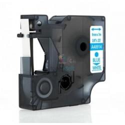 Dymo 40914 D1 (S0720690) - páska 9mm x 7m modrý tlač / biely podklad kompatibilný