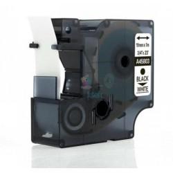 Dymo 45803 D1 (S0720830) - páska 19mm x 7m čierny tlač / biely podklad kompatibilný