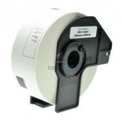 Brother DK-11201 (DK11201) - Kompatibilný papierové etikety samolepiace - 29mm x 90mm, Biele