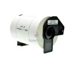 Brother DK-11241 (DK11241) - Kompatibilný papierové etikety samolepiace - 102mm x 152mm, Biele