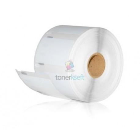 Dymo 11354 (S0722540) - Kompatibilný papierové štítky / etikety samolepiace - 32mm x 57mm, Biele