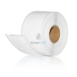 Dymo 14681 (S0719250) - Kompatibilný papierové štítky / etikety samolepiace na CD / DVD - 57mm, Biele