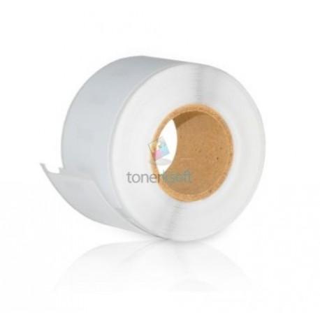 Dymo 99010 (S0722370) - Kompatibilný papierové štítky / etikety samolepiace Adresné štítky - 89mm x 28mm, Biele