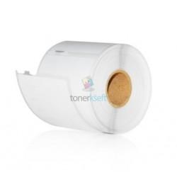 Dymo 99014 (S0722430) - Kompatibilný papierové štítky / etikety samolepiace prepravné - 101mm x 54mm, Biele