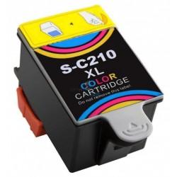 Samsung Ink-C210 / S-C210 Color - trojfarebná kompatibilné cartridge s čipom - 39 ml
